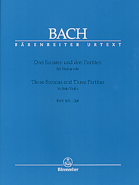 Illustration bach js sonates et partitas (ba)