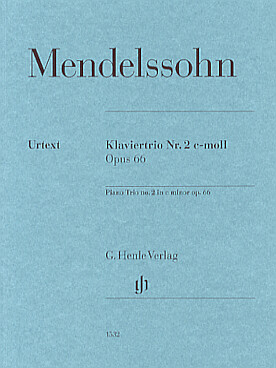 Illustration mendelssohn trio avec piano n° 2 op. 66