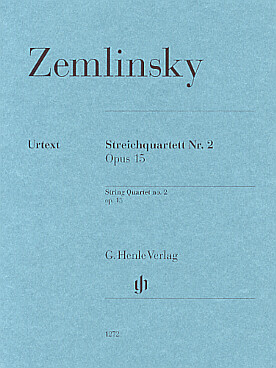 Illustration zemlinsky quatuor n° 2 op. 15