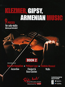 Illustration klezmer, gipsy, armenian music vol. 2